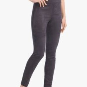 NWT White House Black Market Faux Suede Leggings